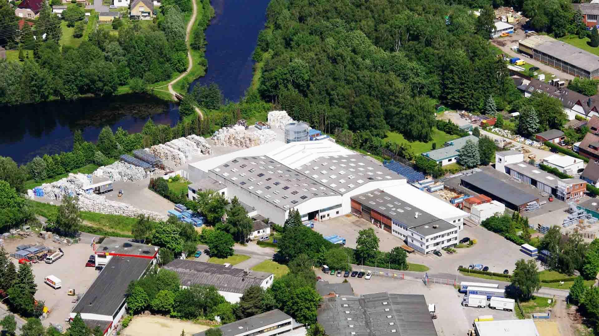 Daberkow-Recycling-Entsorgungsfachbetrieb-Hamburg-Luftaufnahme